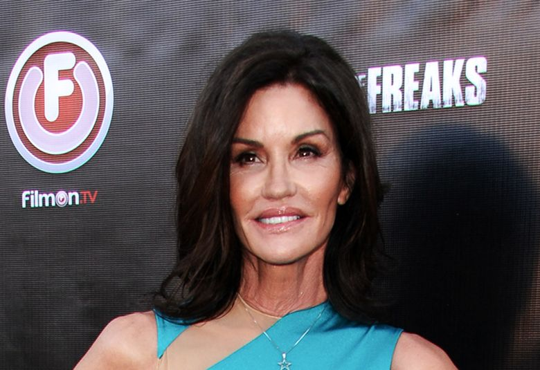 """FILE – In this June 29, 2015 file photo, Janice Dickinson arrives at the Los Angeles premiere of """"Lord of the Freaks."""" Dickinson has revealed that she's got breast cancer and vows to battle the disease. She told the Daily Mail of London that a """"pea-size"""" lump was found on her right breast during a doctor visit on March 8. (Photo by Richard Shotwell/Invision/AP, File)"""