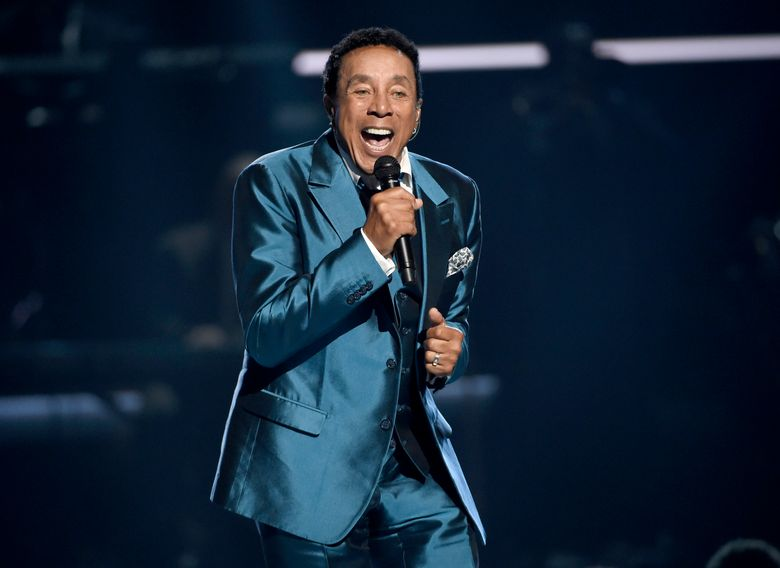 FILE – In this June 28, 2015, file photo, Smokey Robinson performs at the BET Awards in Los Angeles. Robinson will be honored on May 19, 2016, by the MusiCares MAP Fund, which provides members of the music community access to addiction recovery treatment regardless of their financial situation. Robinson will also perform at the event, to be hosted by comedian-actor Cedric the Entertainer. Additional performers will be announced at a later date. (Photo by Chris Pizzello/Invision/AP, File)