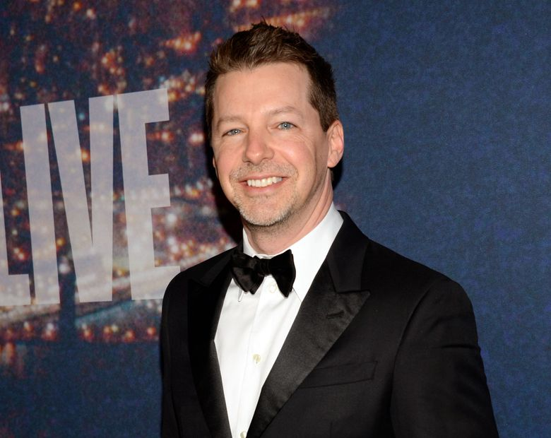 """FILE – In this Feb. 15, 2015 file photo, actor Sean Hayes attends the SNL 40th Anniversary Special in New York. Hayes will play God in a stage adaptation of the humor book """"The Last Testament: A Memoir by God"""" on Broadway. The play, called """"An Act of God,"""" will come to Broadway this summer. (Photo by Evan Agostini/Invision/AP, File)"""