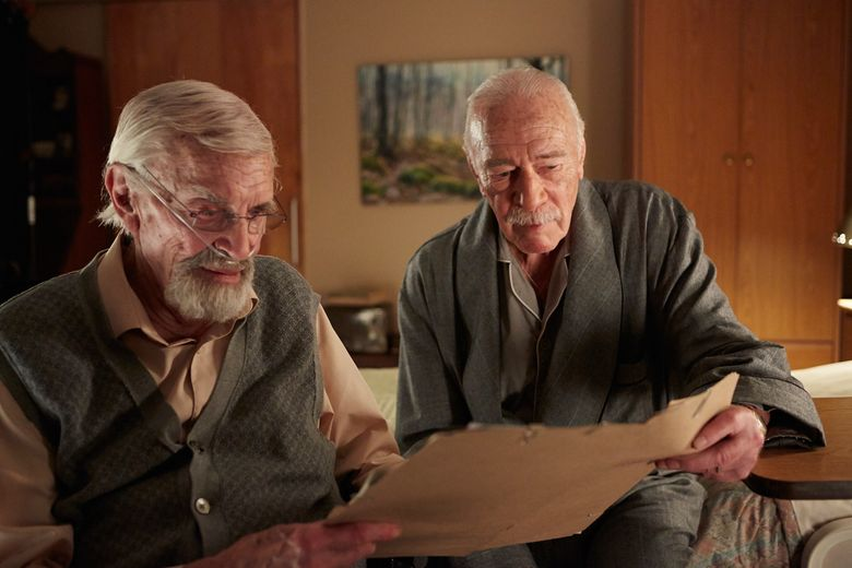 """Two Holocaust survivors, portrayed by Martin Landau, left, and Christopher Plummer, plot to assassinate a former Nazi camp guard in """"Remember."""""""