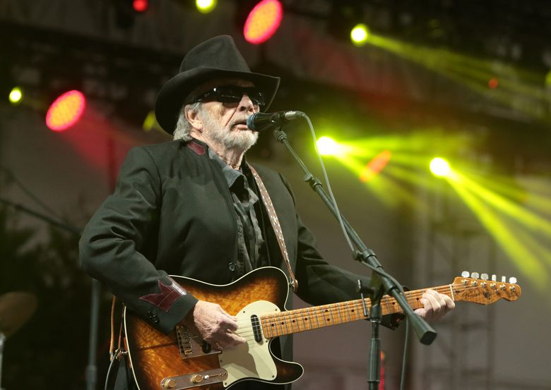 """FILE – In this June 28, 2015 file photo, singer-songwriter Merle Haggard performs at the 2015 Big Barrel Country Music Festival in Dover, Del. Haggard has canceled his April concert dates as he recovers from a recurring bout of double pneumonia. The 78-year-old singer of hits like """"Okie From Muskogee,"""" """"Mama Tried"""" and """"Workin' Man Blues"""" had also cancelled dates in February and March. (Photo by Owen Sweeney/Invision/AP, File)"""