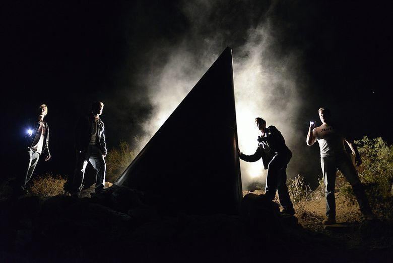 "Four yahoos encounter strangeness in the desert in sci-fi thriller ""The Phoenix Incident."" (ERICA PARI SE)"