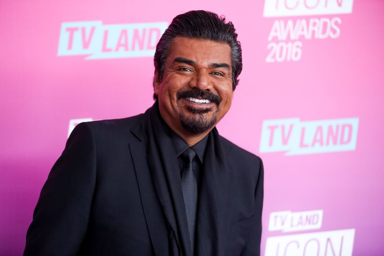 """FILE – In this April 10, 2016 file photo, George Lopez arrives at the 2016 TV Land Icon Awards in Santa Monica, Calif. Lopez, D.L. Hughley, Cedric the Entertainer, Eddie Griffin and Charlie Murphy will be making a series for the BET Network on the behind-the-scenes world of a comedy tour. """"Comedy Get Down"""" is about their concert tour of the same name. BET described the scripted series as a workplace comedy at its core, and it was one of several new projects announced Wednesday, April 20, at a presentation to advertisers. (Photo by Rich Fury/Invision/AP, File)"""