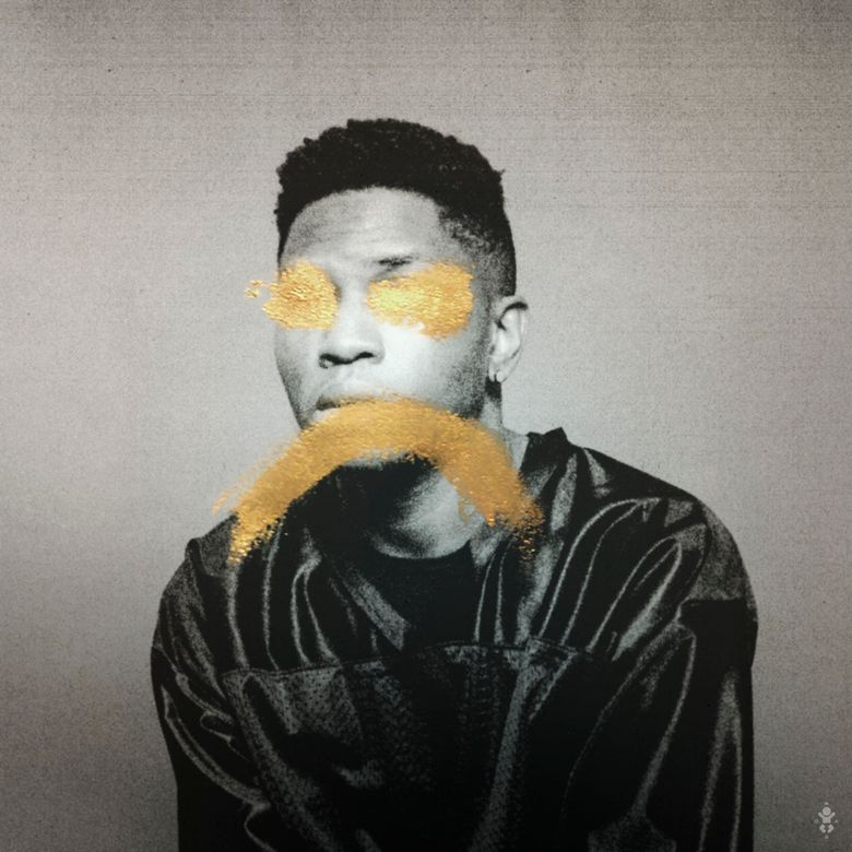 """This CD cover image released by Warner Bros. Records shows """"Ology,"""" a debut release by Gallant. (Warner Bros. Records via AP)"""