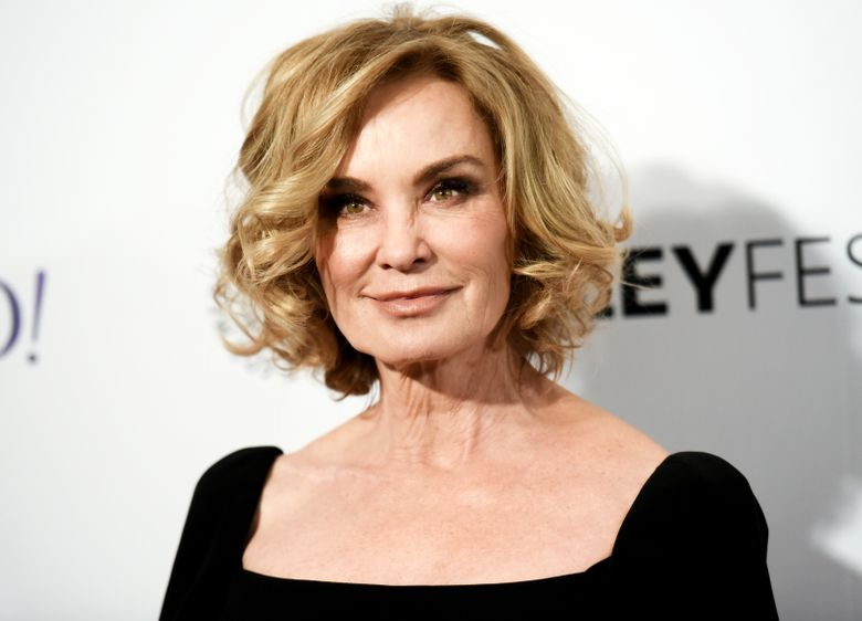 """FILE – In this March 15, 2015 file photo, Jessica Lange arrives at the 32nd Annual Paleyfest : """"American Horror Story: Freak Show"""" in Los Angeles. Lange will play a drug-addled mother in the gloomy Broadway revival of """"Long Day's Journey Into Night,"""" opening on April 27 at the American Airlines Theatre in New York.  (Photo by Richard Shotwell/Invision/AP, File)"""