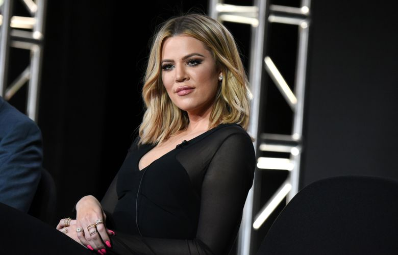 """FILE – In this Jan. 6, 2016 file photo, Khloe Kardashian participates in the panel for """"Kocktails with Khloe"""" at the FYI 2016 Winter TCA in Pasadena, Calif. On Wednesday, April 6, FYI canceled Kardashian's talk show. The final episode will air on April 20. (Photo by Richard Shotwell/Invision/AP, File)"""