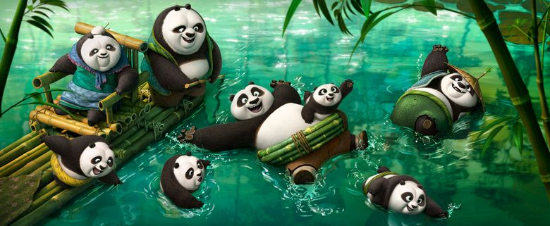 """""""Kung Fu Panda 3"""" is playing at a discounted rate at the Crest and the Gateway.  (DreamWorks Animation)"""