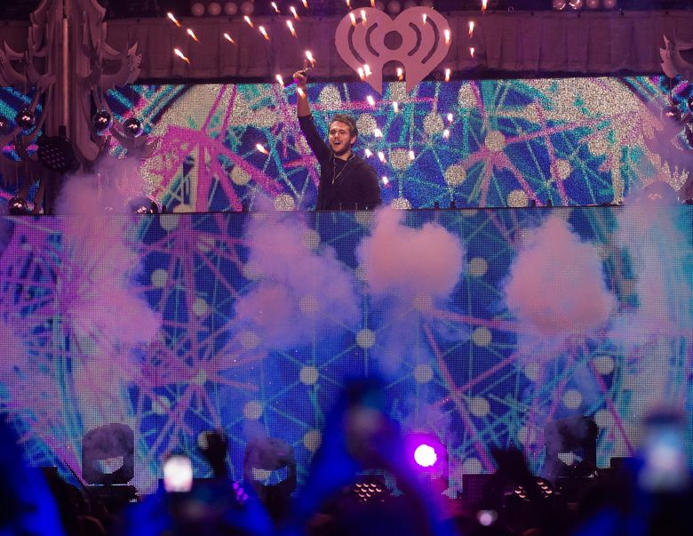 FILE – In this Dec. 11, 2015 file photo, Zedd performs at Z100's iHeartRadio Jingle Ball 2015 in New York. Zedd, The Chainsmokers, Tiesto, Kaskade, Paul Oakenfold and Martin Garrix will perform at the 20th annual Electric Daisy Carnival in Las Vegas on June 17-19. (Photo by Charles Sykes/Invision/AP, File)