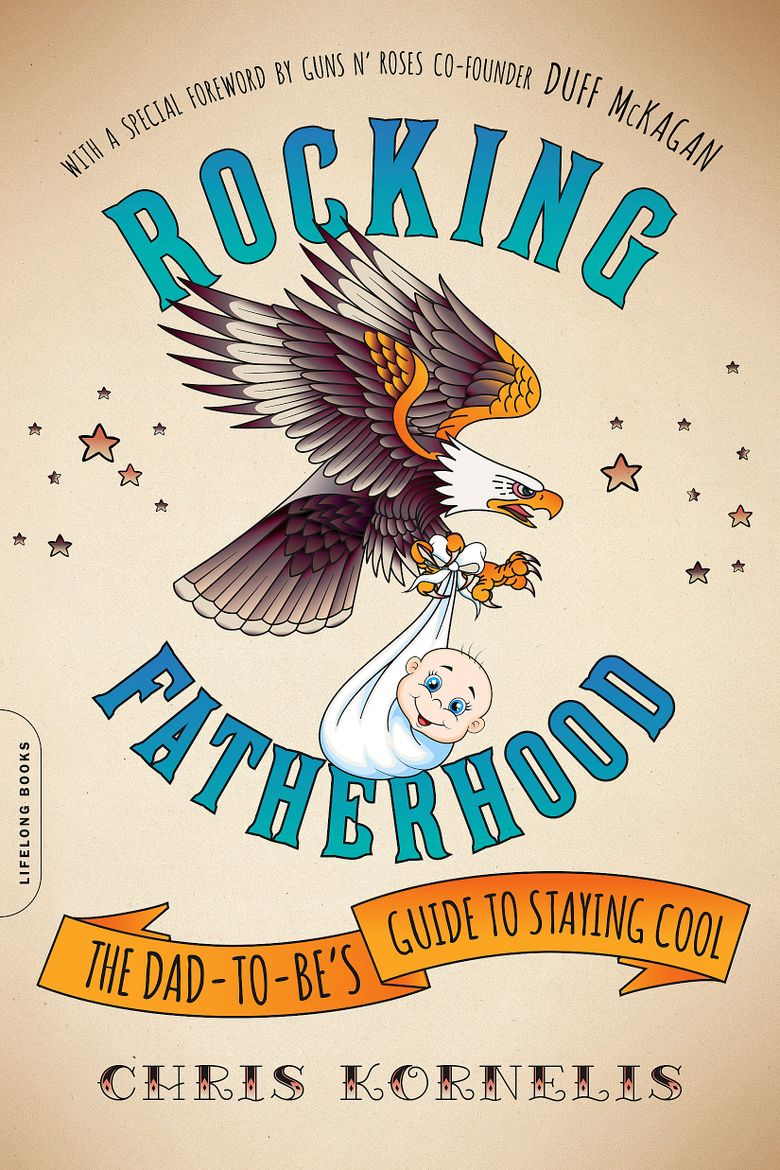"""Author Chris Kornelis' book """"Rocking Fatherhood: The Dad-to-Be's Guide to Staying Cool,"""" was released May 3."""
