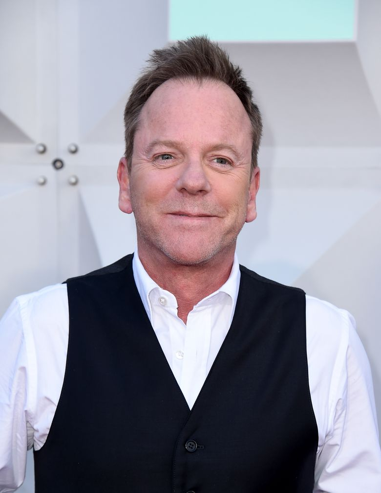 FILE – In this April 3, 2016 file photo, Kiefer Sutherland arrives at the 51st annual Academy of Country Music Awards in Las Vegas. Sutherland will play a low-level Cabinet member who suddenly becomes president on a new ABC drama this fall, one of nine new series the network will launch next season. (Photo by Jordan Strauss/Invision/AP, File)