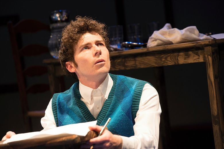 """Conner Neddersen in the title role in """"My Name is Asher Lev,"""" presented by New Century Theatre Company. (Elise Bakketun)"""