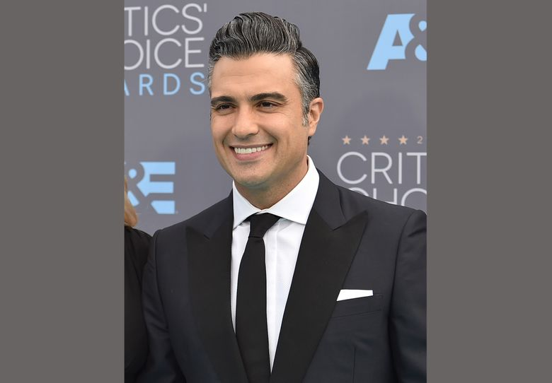 """FILE – In this Jan. 17, 2016 file photo, Jaime Camil arrives at the 21st annual Critics' Choice Awards in Santa Monica, Calif. Camil star will play Billy Flynn on Broadway in the record-breaking """"Chicago"""" starting May 31. (Photo by Jordan Strauss/Invision/AP, File)"""