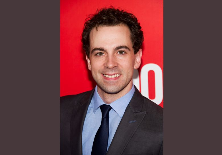 """FILE – In this Sept. 12, 2013 file photo, Rob McClure attends the """"Don Jon"""" in New York. McClure takes over for Brian d'Arcy James Broadway musical """"Something Rotten!"""". (Photo by Charles Sykes/Invision/AP, File)"""