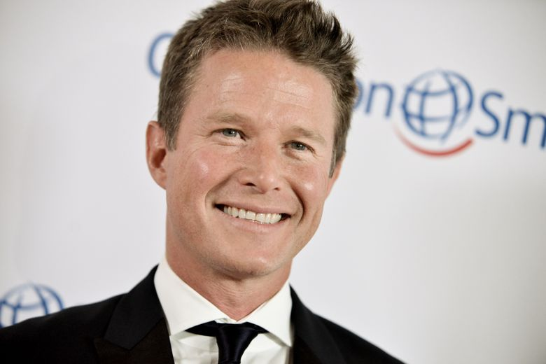 """FILE – In this Sept. 19, 2014 file photo, Billy Bush arrives at the Operation Smile's 2014 Smile Gala in Beverly Hills, Calif. Bush will begin appearing on the """"Today"""" morning show during NBC's coverage of the Rio Olympics in August, the network said Tuesday, May 17, 2016. (Photo by Richard Shotwell/Invision/AP, File)"""