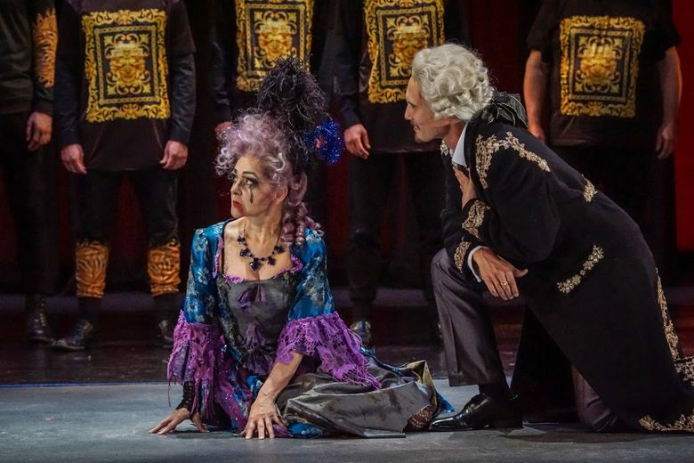 """A 2015 performance of Mozart's """"The Magic Flute"""" with Pacific MusicWorks at the University of Washington's Meany Theater. Pacific MusicWorks will perform Gluck's """"Orphe et Eurydice"""" May 20-22."""