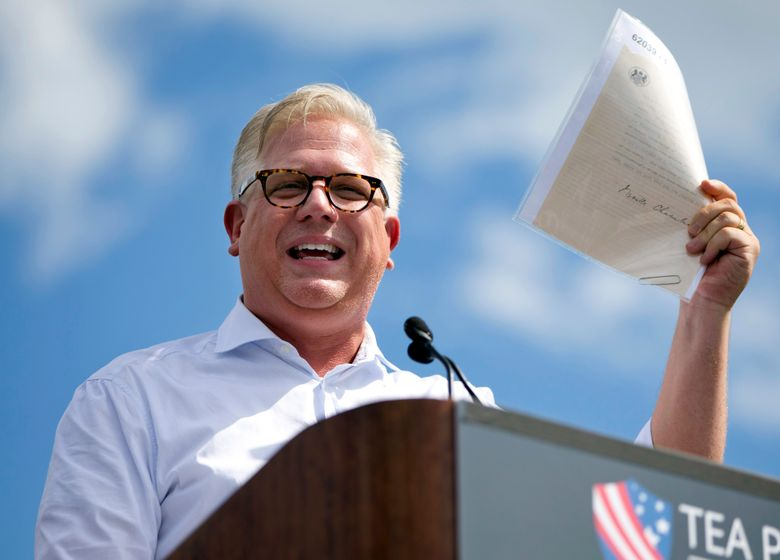 Radio host Glenn Beck speaks in 2015 during a Tea Party rally on the West Lawn of the Capitol in Washington. Beck has offered to sacrifice his health and other older Americans' lives for the good of the U.S. economy amid President Donald Trump's rhetoric against the social distancing guidelines  to control the spread of the novel coronavirus. (AP Photo/Jacquelyn Martin, file)