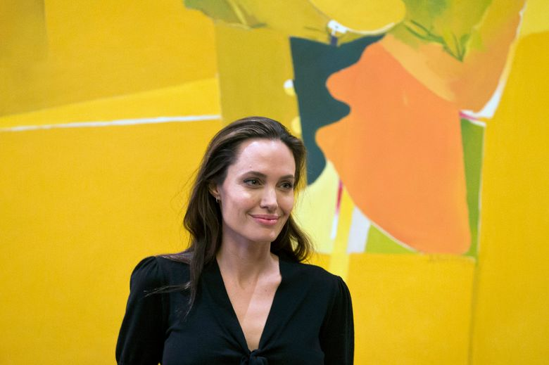 FILE – In this Wednesday, March 16, 2016 file photo, U.S. actress Angelina Jolie smiles during her meeting with Greek Prime Minister Alexis Tsipras, in Athens. Actress and campaigner Angelina Jolie has been appointed a visiting professor at one of Britain's most prestigious universities. The London School of Economics announced Monday, May 23, 2016 that Jolie would be working with students studying for a master's degree in Women, Peace and Security. (AP Photo/Petros Giannakouris, file)