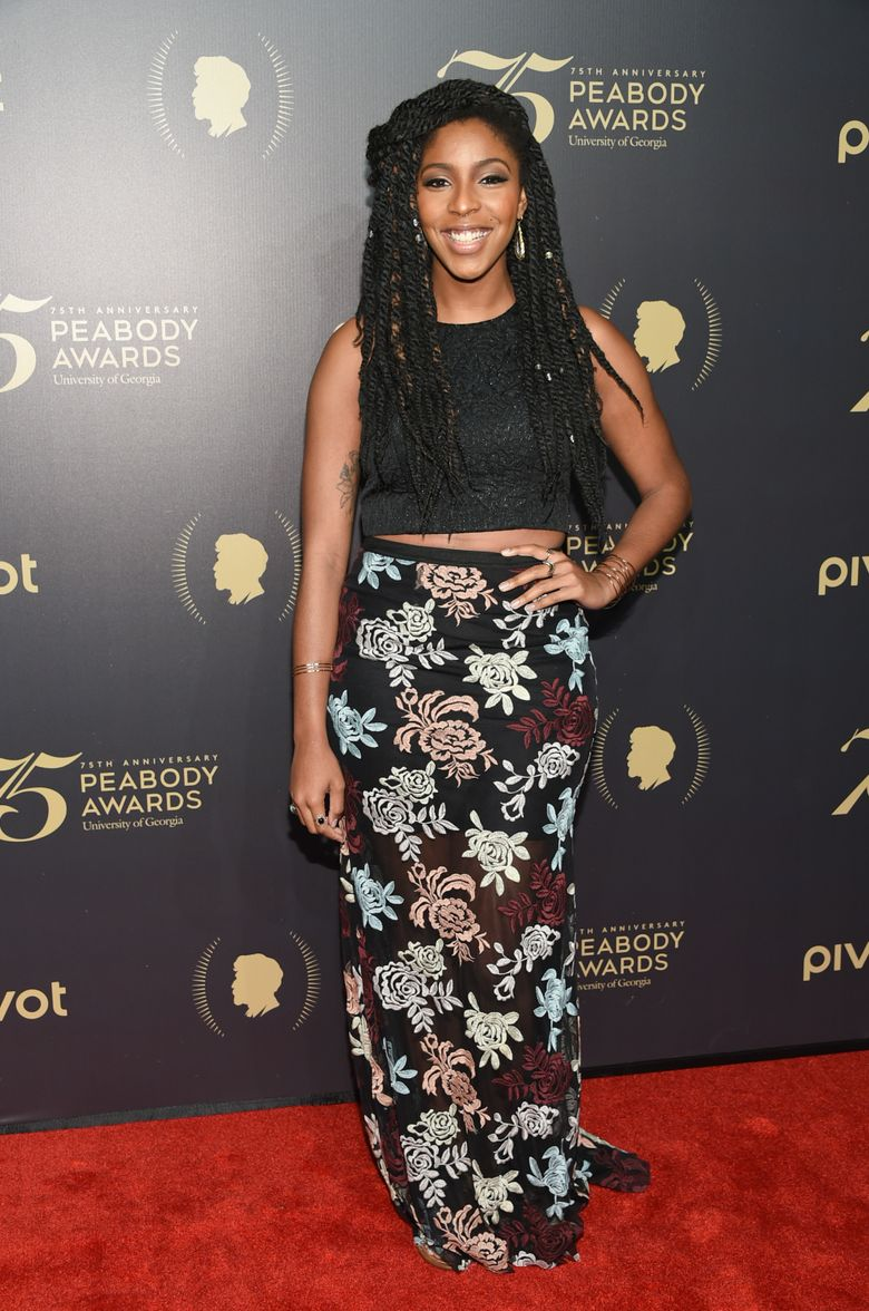 """FILE – In this May 21, 2016 file photo, """"The Daily Show"""" correspondent Jessica Williams attends the 75th Annual Peabody Awards Ceremony at Cipriani Wall Street in New York.  Williams is leaving as a correspondent on Comedy Central's """"The Daily Show"""" after four years this week. But she's not straying far. The network said Wednesday, June 29  that Williams will be concentrating on a new scripted show that she's developing for Comedy Central.(Photo by Evan Agostini/Invision/AP)"""
