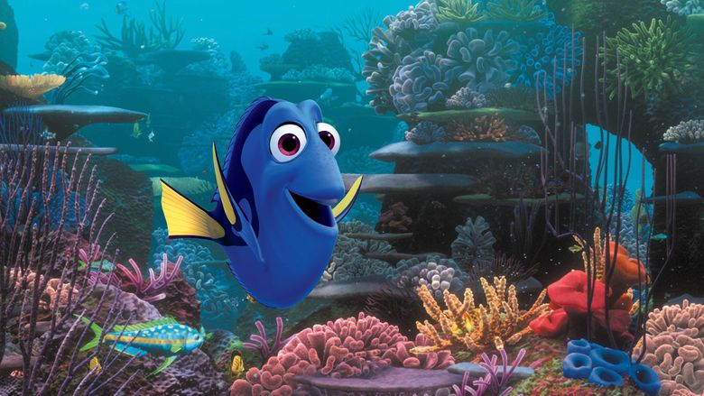 """Ellen DeGeneres returns as the voice of the forgetful blue fish in """"Finding Dory."""" (Pixar)"""