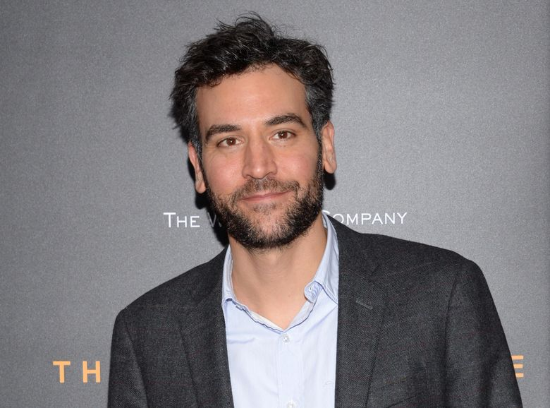 """FILE – In this Nov. 17, 2014 file photo, Josh Radnor attends the premiere of """"The Imitation Game"""" in New York. Radnor and F. Murray Abraham will star in the play, """"White Rabbit Red Rabbit."""" The play requires no set or director or rehearsals. The actors don't read the script until they are onstage for the first time. Then they are asked never to perform it again. Abraham will perform on July 18 and Radnor performs on July 25. (Photo by Evan Agostini/Invision/AP, File)"""