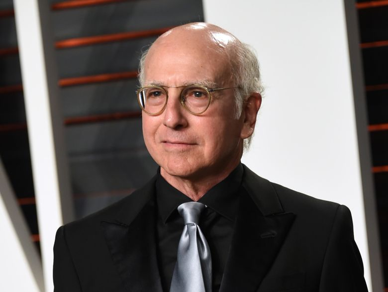 """FILE – In this Feb. 28, 2016 file photo, Larry David arrives at the Vanity Fair Oscar Party in Beverly Hills, Calif. David is bringing back his HBO comedy series, """"Curb Your Enthusiasm,"""" for a ninth season. (Photo by Evan Agostini/Invision/AP, File)"""