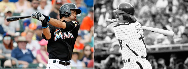 With two hits Wednesday, Ichiro reached 4,257 career hits in the Japanese and North American major leagues, surpassing Pete Rose's total in Major League Baseball. So does Ichiro now hold the mark players should aspire to, or does Rose remain baseball's hit king?  (AP)