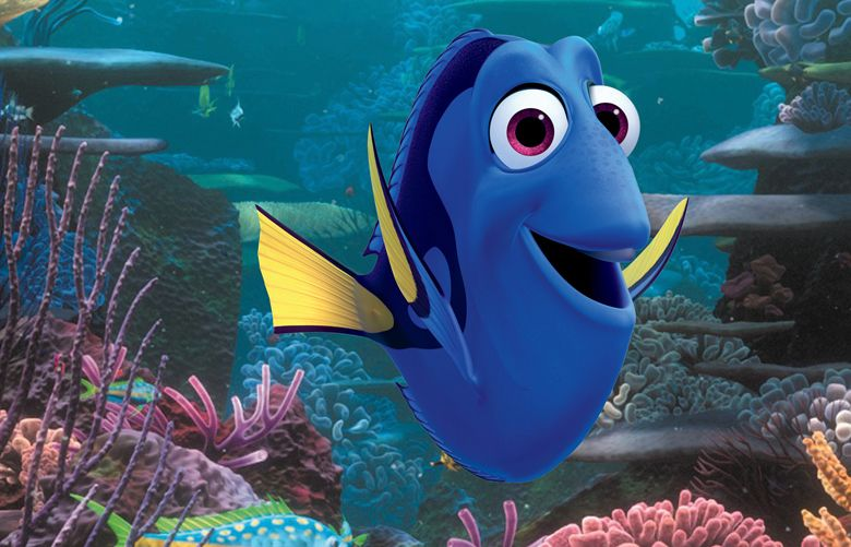 The lovable Dory. (Disney Pixar)