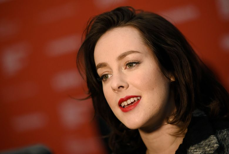 FILE – In this Jan. 25, 2016, file photo, Jena Malone, is interviewed at the 2016 Sundance Film Festival in Park City, Utah. On May 31, 2016, Malone announced the birth of her son with Ethan DeLorenzo on Instagram. (Photo by Chris Pizzello/Invision/AP, File)