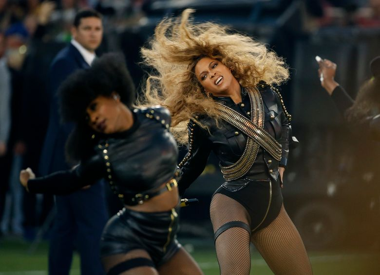 FILE – In this Sunday, Feb. 7, 2016, file photo, Beyonce performs during halftime of the NFL Super Bowl 50 football game in Santa Clara, Calif. Beyonce has helped raise more than $82,000 for Flint residents who continue to deal with the city's lead-tainted water supply. The singer's representatives announced her entertainment and management company, Parkwood Entertainment, presented the United Way of Genesee County with a check for $82,234 on Monday, June 13, 2016.  (AP Photo/Matt Slocum, File)