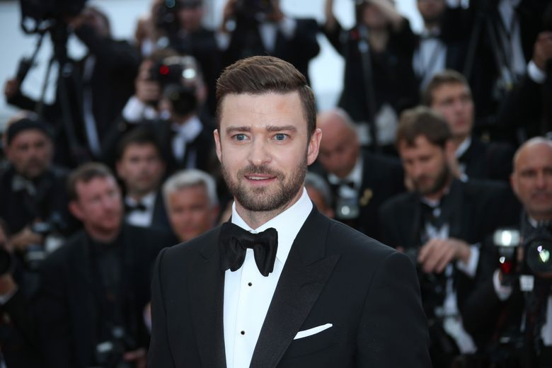 FILE – In a Wednesday, May 11, 2016 file photo, actor Justin Timberlake arrives on the red carpet for the screening of the film Cafe Society and the Opening Ceremony at the 69th international film festival, Cannes, southern France. Timberlake, who praised actor and activist Jesse William's moving speech at the BET Awards, has apologized for responding to a tweet that claimed he appropriates black culture.  (AP Photo/Joel Ryan, File)