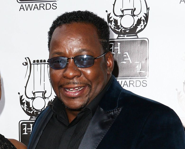 FILE – In this Sept. 27, 2015, file photo, Bobby Brown attends the 26th Annual Heroes and Legends Awards in Beverly Hills, Calif. In an interview with ABC News published online on June 6, 2016, Brown suggested a family friend is to blame for the deaths of ex-wife Whitney Houston and the couple's daughter, Bobbi Kristina Brown.  (Photo by John Salangsang/Invision/AP, File)