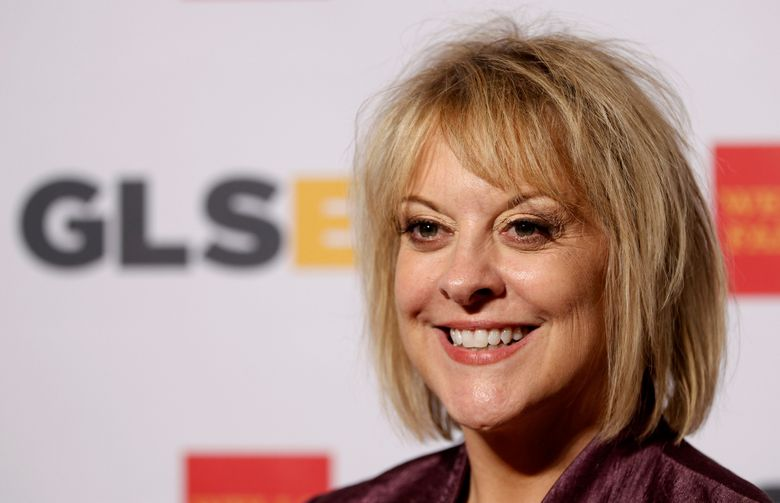 FILE – In this Friday, Oct. 21, 2014, file photo, television host Nancy Grace arrives at the 7th annual GLSEN Respect Awards in Beverly Hills, Calif.  Grace is leaving her prime-time show on the HLN network in October 2016. The CNN sister station said Grace told her staff on Thursday, June 30, 2016 that her show would be ending after 12 years. An HLN spokeswoman said the network had no immediate announcement on what program would go in its place. (AP Photo/Matt Sayles, File)