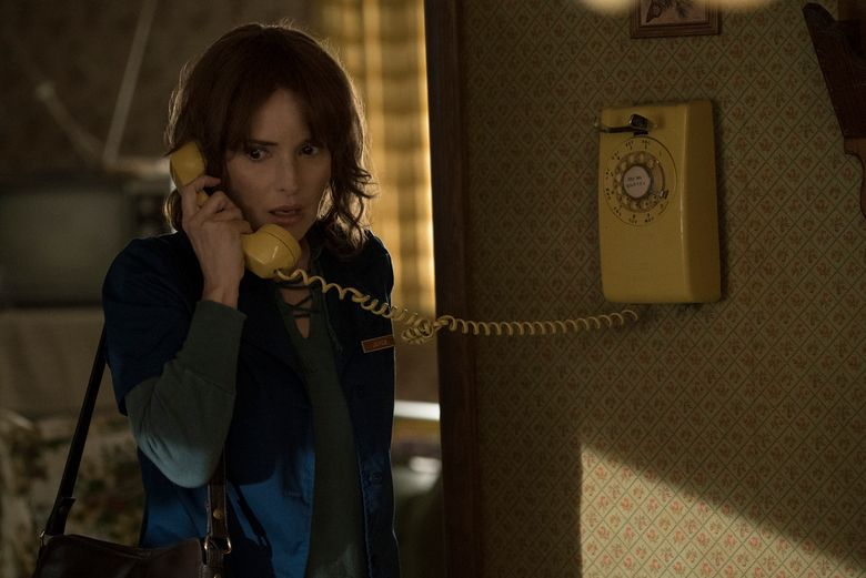 """Winona Ryder plays the mother of a missing boy in """"Stranger Things.""""  (Curtis Baker/TNS)"""