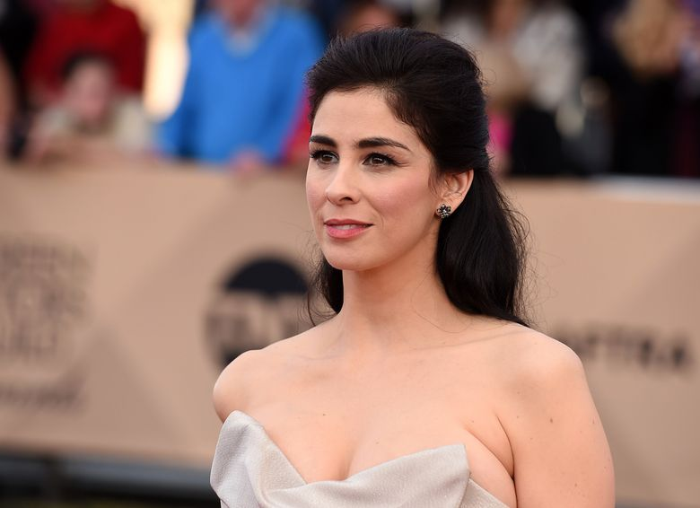 FILE – In this Jan. 30, 2016, file photo, Sarah Silverman arrives at the 22nd annual Screen Actors Guild Awards at the Shrine Auditorium & Expo Hall in Los Angeles. Silverman said in a Facebook post on July 7, 2016, she underwent surgery recently for epiglottitis and spent a week in the intensive care unit. (Photo by Jordan Strauss/Invision/AP, File)