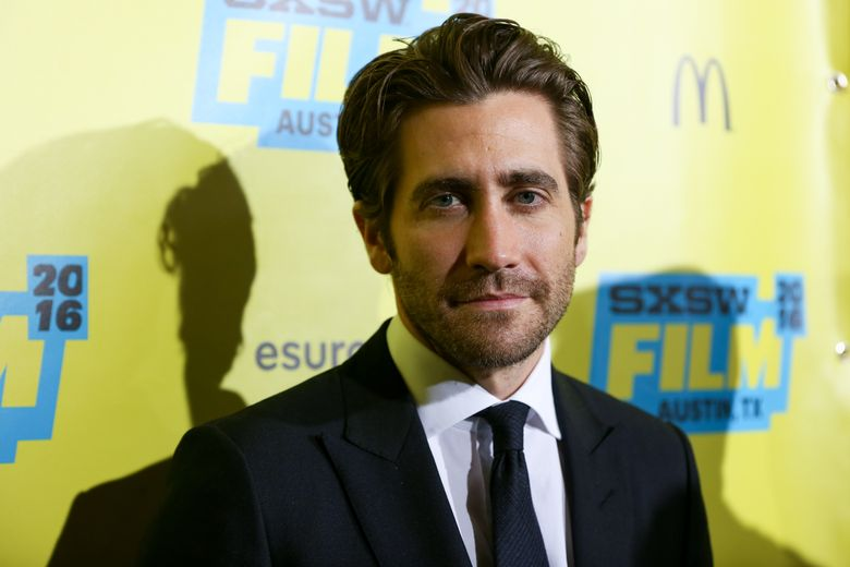 """FILE – In this March 12, 2016, file photo, Jake Gyllenhaal arrives at the screening of """"Demolition"""" during South By Southwest at the Paramount Theatre in Austin, Texas. Gyllenhaal, who made his Broadway debut last year, will be returning to star in Lanford Wilson's acclaimed play """"Burn This."""" Performances begin February 2017. (Photo by Rich Fury/Invision/AP, File)"""