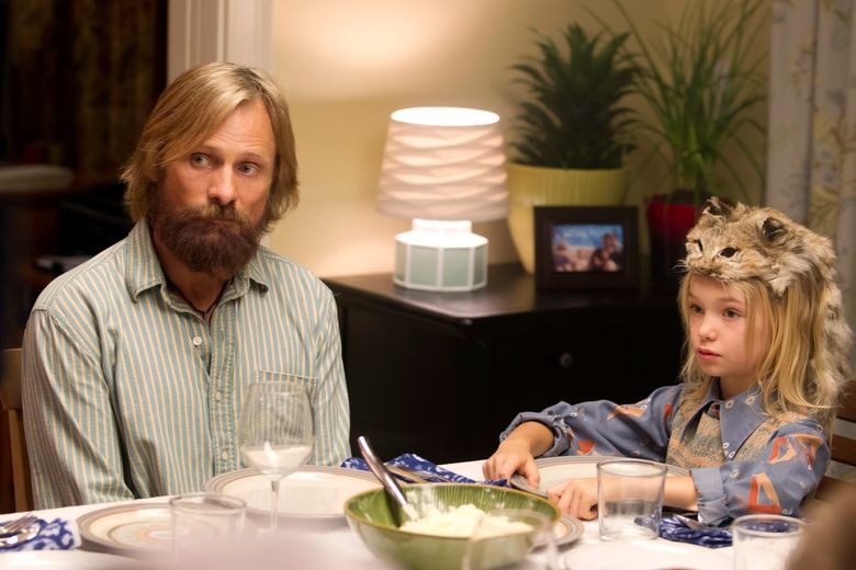 "Viggo Mortensen and Shree Crooks star in ""Captain Fantastic,"" about a widower raising an unconventional family.  (Erik Simkins)"