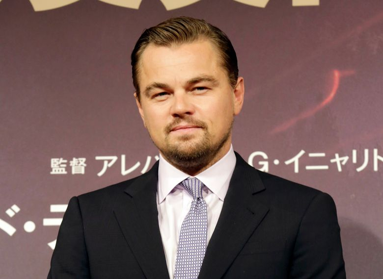 """FILE – In this March 23, 2016 file photo, actor Leonardo DiCaprio poses during a photo session of the movie """"The Revenant"""" in Tokyo. DiCaprio's foundation has announced $15.6 million in grants for conservation efforts. (AP Photo/Eugene Hoshiko, File)"""