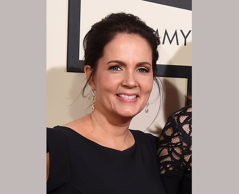 FILE – In this Feb. 15, 2015 file photo, Lori McKenna appears at the 58th annual Grammy Awards at the Staples Center in Los Angeles. Over her career, which spans back into the late '90s, she's written songs for Faith Hill, Reba, Alison Krauss, Hunter Hayes and Keith Urban in her basement just outside of Boston, Massachusetts, between loads of laundry and making meals. But recently she's been on a successful streak, winning a Grammy this year for Best Country Song for co-writing the Little Big Town hit with Liz Rose and Hillary Lindsey. (Photo by Jordan Strauss/Invision/AP, File)