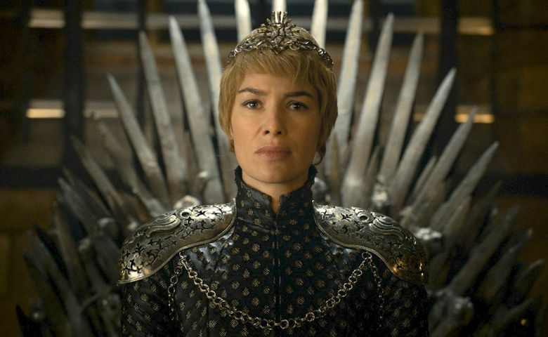 """In this undated image released by HBO, Lena Headey appears in a scene from """"Game of Thrones."""" """"Game of Thrones"""" composer Ramin Djawadi said Monday, Aug. 8, 2016, he's leading a 28-city tour across North America, using a full orchestra and choir to illustrate some favorite scenes from the show that will be broadcast on LED screens for fans. (HBO via AP, File)"""