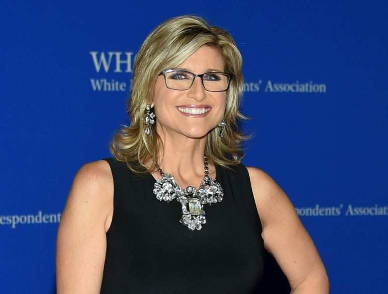 """FILE – In this April 30, 2016 file photo, CNN's """"Legal View"""" host Ashleigh Banfield attends the White House Correspondents' Association Dinner in Washington.  Banfield will join CNN sister channel HLN as host of a prime-time program covering social and legal issues. She announced the new job on her program Thursday, saying she was """"super excited to do it."""" Her five-year daytime stint on """"Legal View"""" will end Aug. 23, Banfield said.(Photo by Evan Agostini/Invision/AP, File)"""