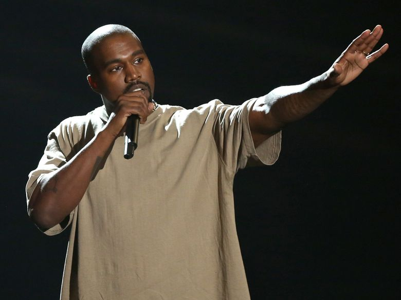Kanye West accepts the video vanguard award at the 2015  MTV Video Music Awards at the Microsoft Theater in Los Angeles. (Photo by Matt Sayles/Invision/AP, File)