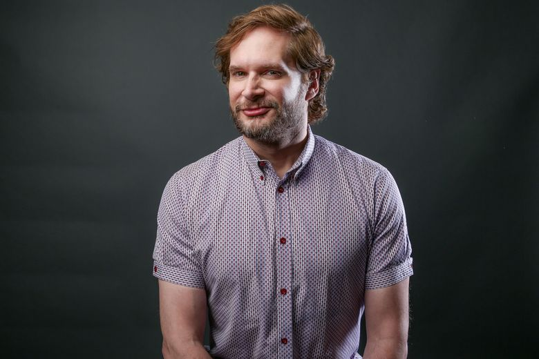 """FILE – In this Monday, Aug. 1, 2016 file photo, Bryan Fuller, showrunner/executive producer of the Starz series """"American Gods,"""" poses for a portrait during the 2016 Television Critics Association Summer Press Tour at the Beverly Hilton in Beverly Hills, Calif. Following up a Comic-Con panel in July about """"Star Trek: Discovery,"""" executive producer Fuller shared details about the 13-episode series' setting, characters and innovations at a Television Critics Association meeting Wednesday, Aug. 10. His disclosures included that the main character is female (human, yes; a captain, no); that the story will feature a gay character, and that there will more aliens. (Photo by Rich Fury/Invision/AP, File)"""