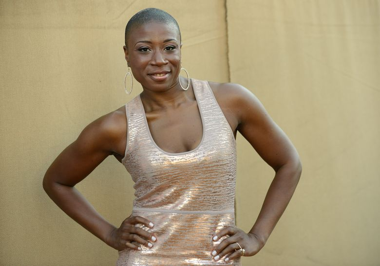 """FILE – In this July 29, 2013 file photo, Aisha Hinds arrives at the CBS, CW and Showtime TCA party in Beverly Hills, Calif. Hinds has been cast to portray Harriet Tubman in the second season of the WGN series, """"Underground."""" (Photo by Jordan Strauss/Invision/AP, File)"""