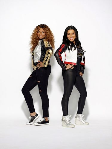 """Salt-N-Pepa performs on the """"I Love the '90s"""" revue at the Tacoma Dome Friday, Aug. 26 and at Marymoor Park Saturday, Aug. 27.(Nick Martucci)"""