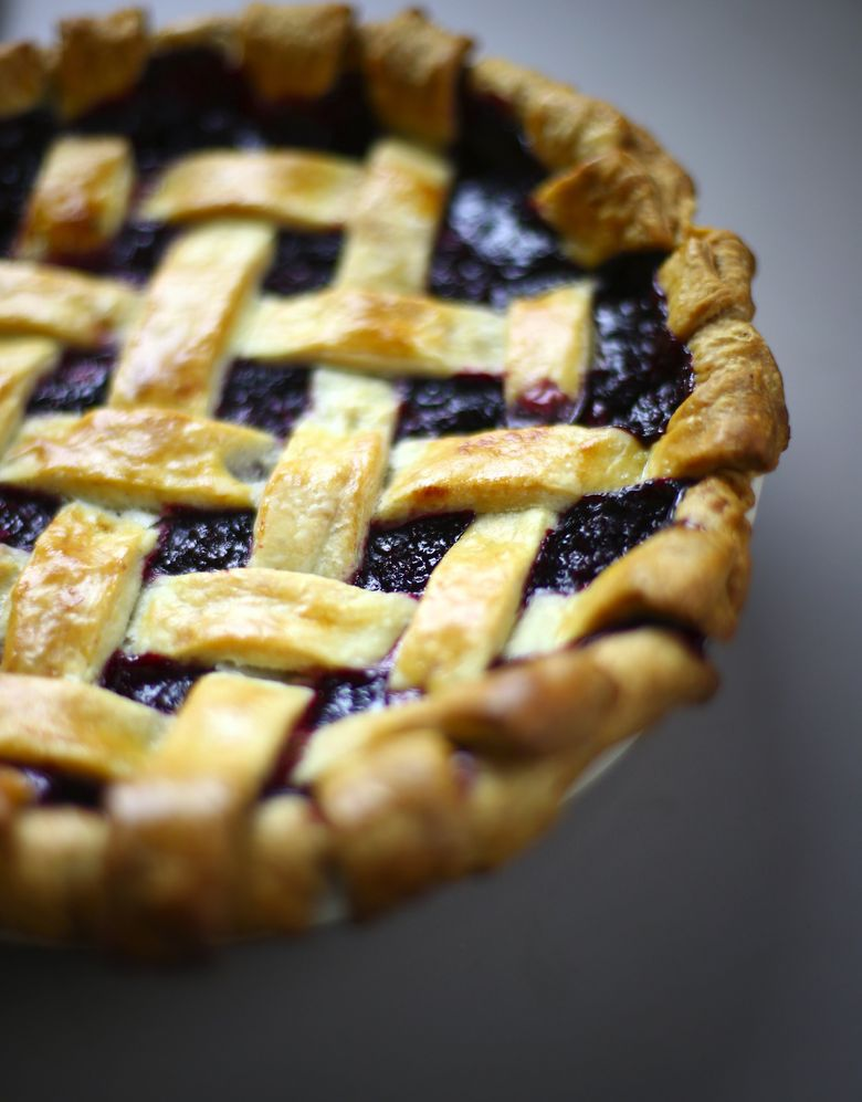 Celebrate the blackberry by digging into pies and other treats at the Bremerton Blackberry Festival.  (John Lok/The Seattle Times)