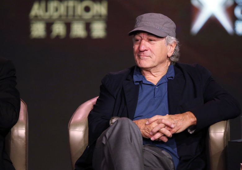 """FILE – In this Tuesday, Oct. 27, 2015 file photo, actor Robert De Niro attends a news conference in Macau. The 22nd Sarajevo Film Festival is kicking off Friday, Aug. 12, 2016 with Robert De Niro presenting Martin Scorsese's restored """"Taxi Driver."""" The actor will also receive the festival's first lifetime achievement award at the opening night. (AP Photo/Kin Cheung, file)"""