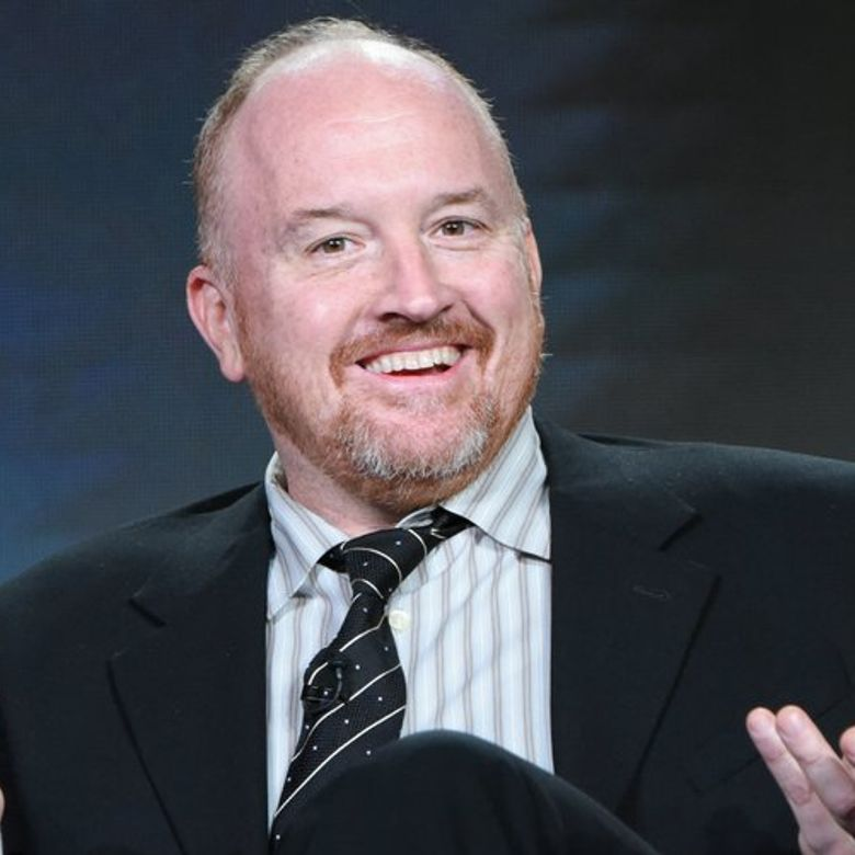 """Co-creator/executive producer Louis C.K. participates in the """"Baskets"""" panel at the FX Networks Winter TCA on Saturday, Jan. 16, 2016, in Pasadena, Calif. (Richard Shotwell/Invision/AP)"""