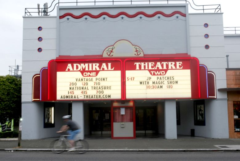Renovations to the Admiral Theater begin Sept. 19 and are expected to be completed by mid-November. (JIM BATES/The Seattle Times)