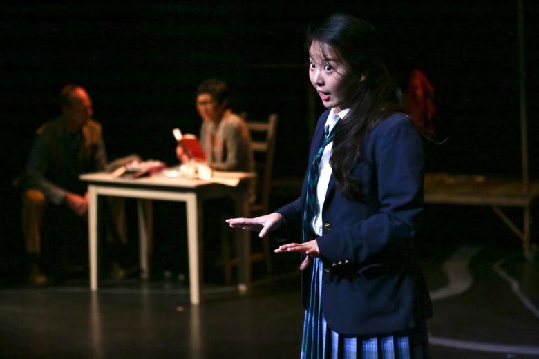 """Mi Kang plays Nao in """"A Tale for the Time Being"""" at Book-It Repertory Theatre. ((Photo by John Ulman) )"""