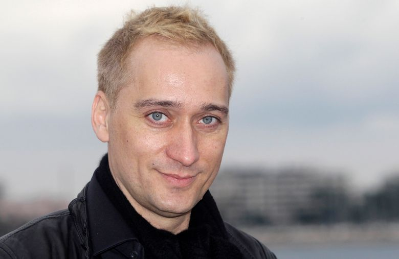 FILE – In this Jan. 30, 2012 file photo, German Electronic Dance Music DJ and record producer Paul Van Dyk poses at the 46th MIDEM (International record music publishing and video music market) in Cannes, southern France. Van Dyk's website and Twitter accounted were hacked and racist messages were posted. A spokesman for the DJ says he did not post any racist messages Thursday, Sept. 1, 2016, on Twitter. (AP Photo/Lionel Cironneau, File)